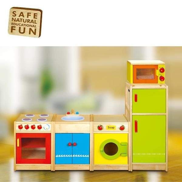 Childrens Wooden Play Kitchen   Google Search