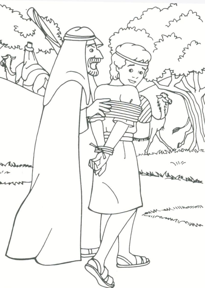 joseph sold into slavery coloring pages joseph sold by his brothers coloring page   Google Search | Sunday  joseph sold into slavery coloring pages