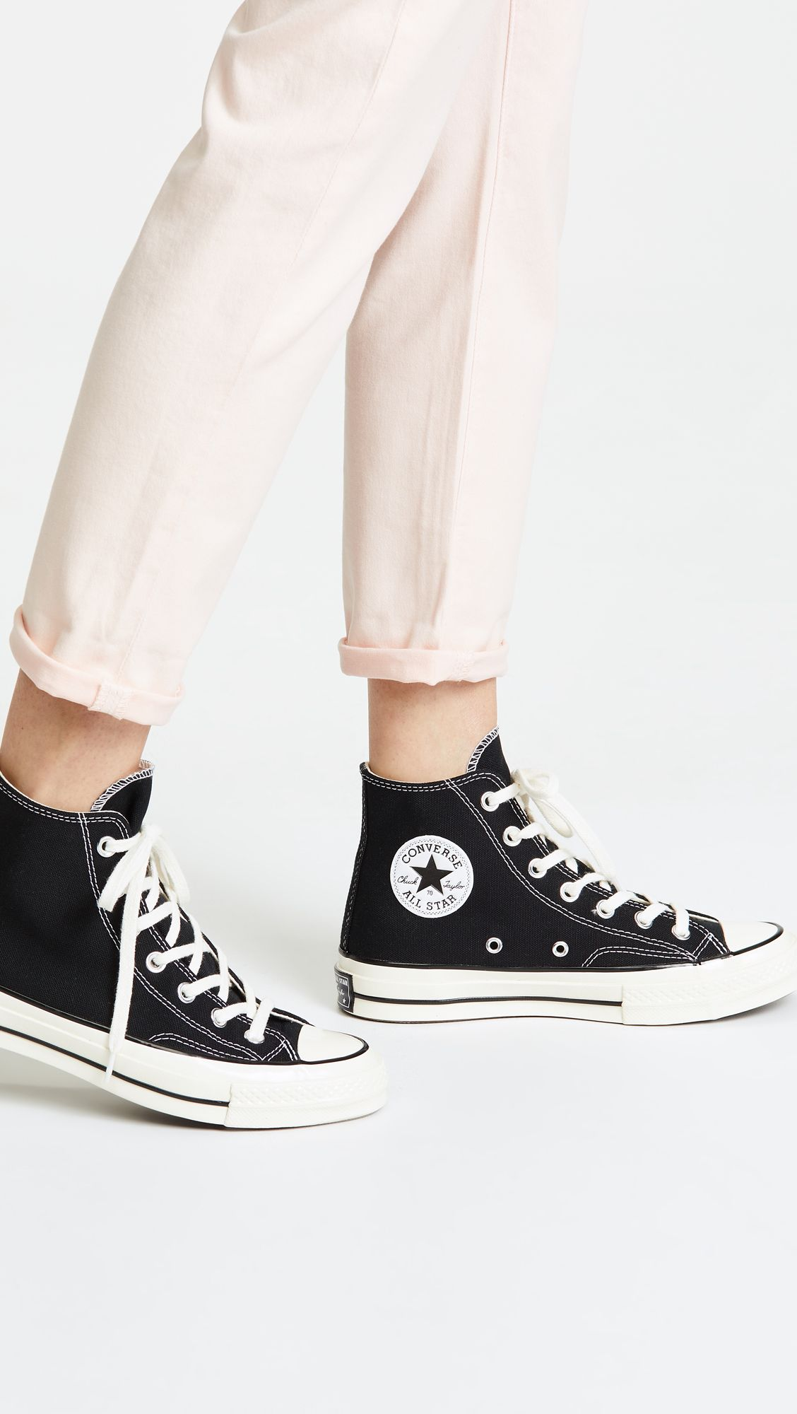 High top sneakers, Converse 70s