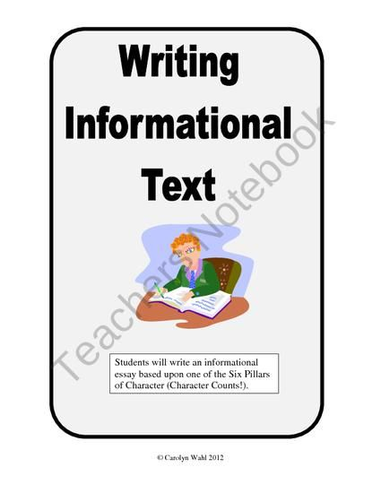 Conscience Essay Writing Information Text  A Definition Essay From Middle School Cafe On  Teachersnotebookcom  Pages  Help Students Learn The Importance Of  Research In  What Is The Thesis Statement In The Essay also English Learning Essay Writing Information Text  A Definition Essay From Middle School  Essay On Healthcare