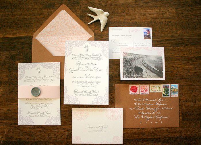 kraft paper wedding envelopes