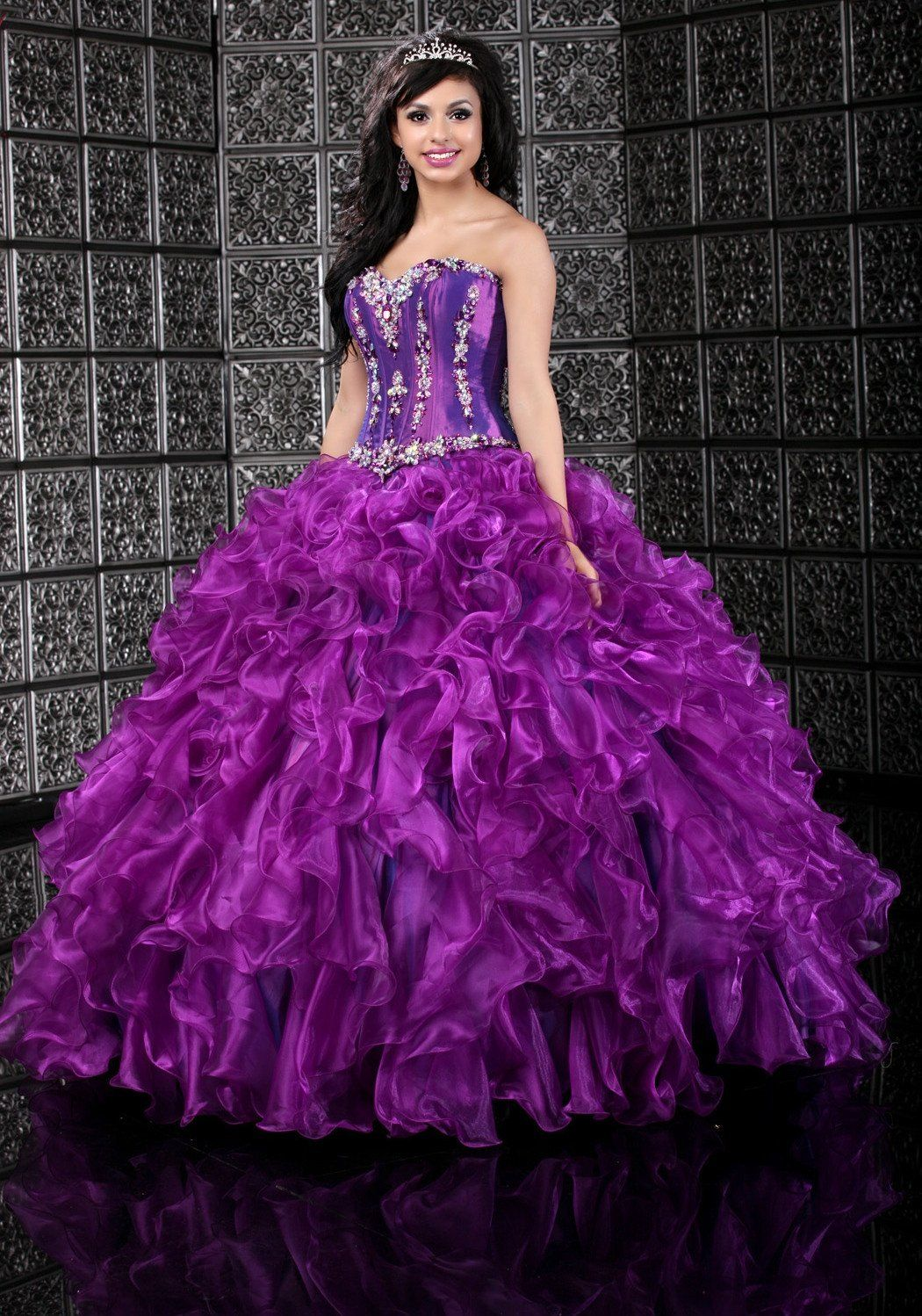 by DaVinci Quinceanera Dress Style 80109