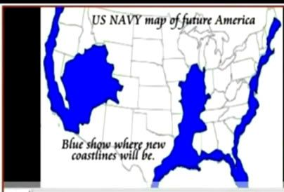 Us Navy Future Map Of America Image result for US Navy map of future USA | Flood map, New madrid
