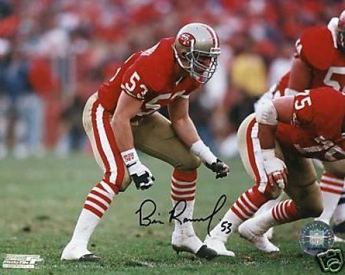 34a95affc0e Bill Romanowski San Francisco 49ers W coa Signed 8x10