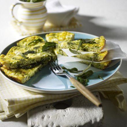 Salbei-Zucchini-Frittata Rezept | LECKER