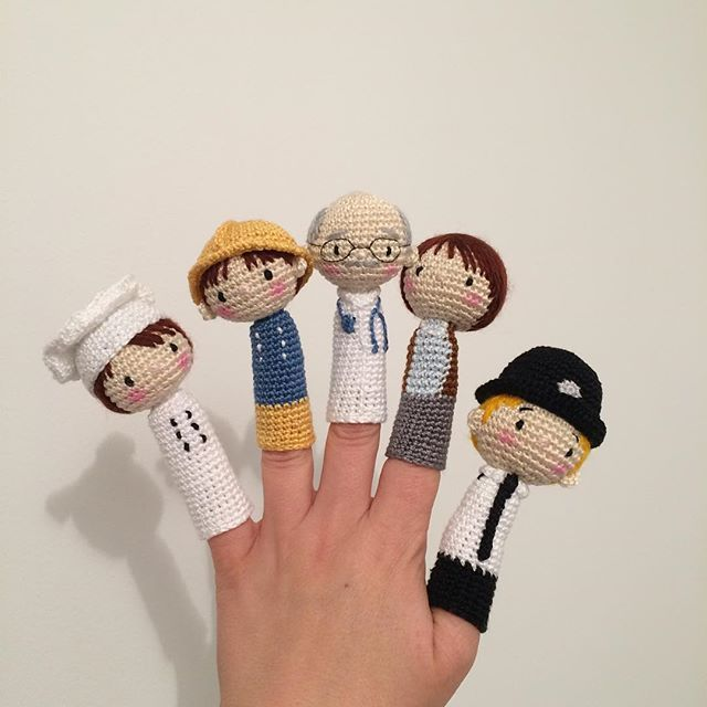 Pin By Heather Darr On Crochet Pinterest Finger Puppets Free