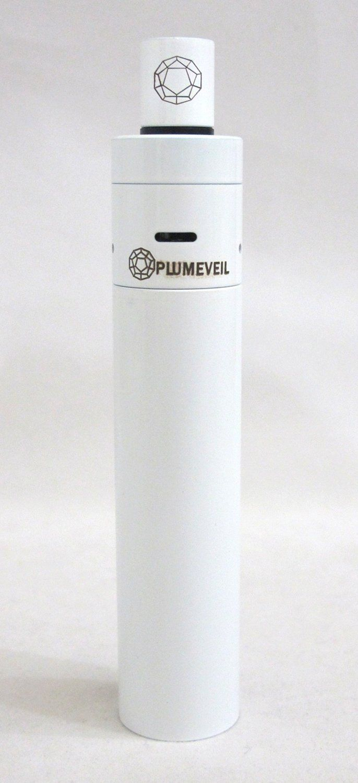 Slick White Plumeveil Mod. Beautiful Piece