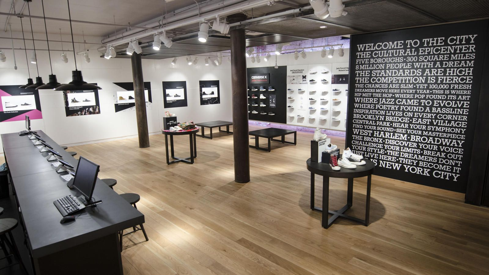 Nike News - CONVERSE REVAMPS SOHO STORE CREATING LARGEST CONVERSE SHOP IN  THE WORLD