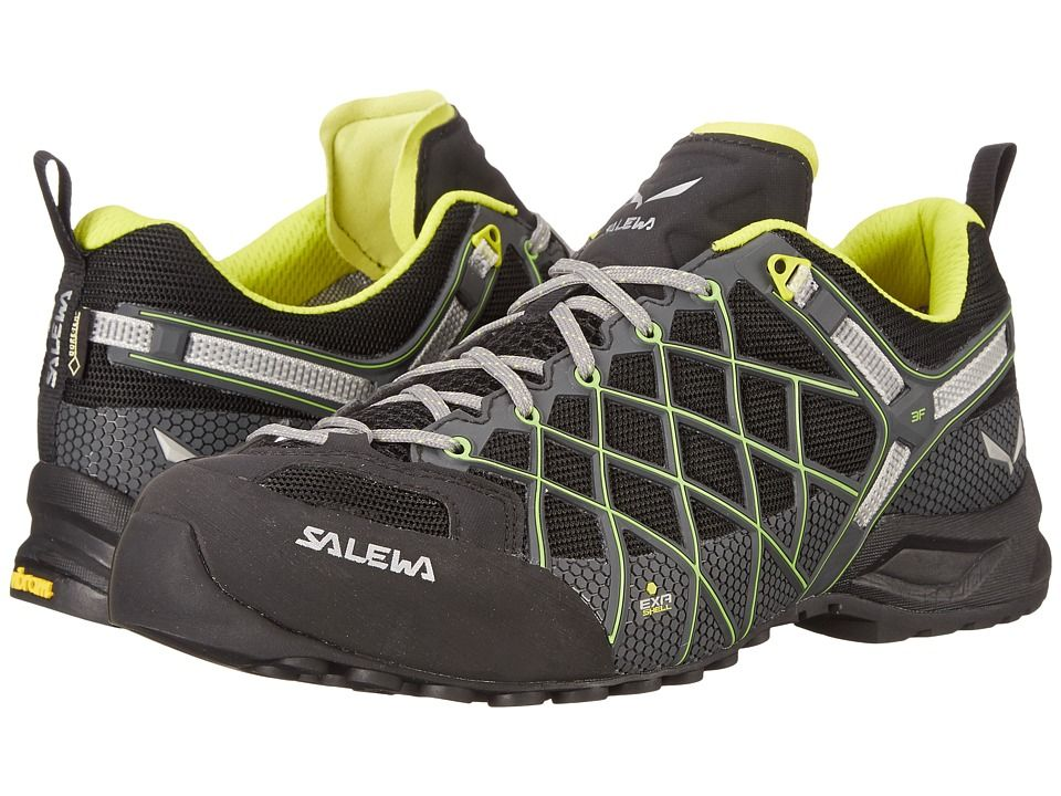 SALEWA Wildfire S GTX(r) Men s Shoes Black Citro  1b485e71d0e