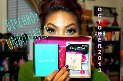 Teaseblendglam Beauty/Fashion/DIY && more!!: October Birchbox & Ipsy Unboxings! YouTube Channel: teaseblendglam