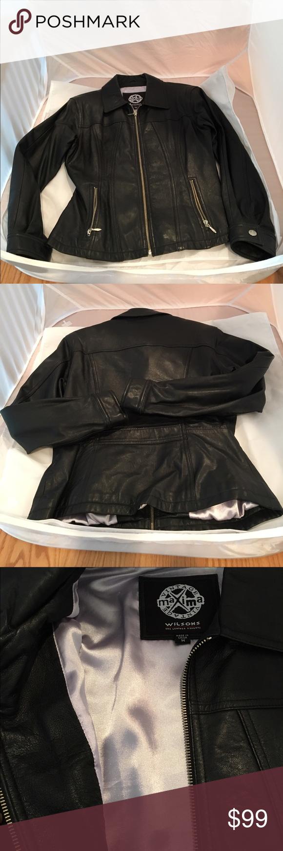 Wilsons Vintage Maxima leather jacket Leather jacket