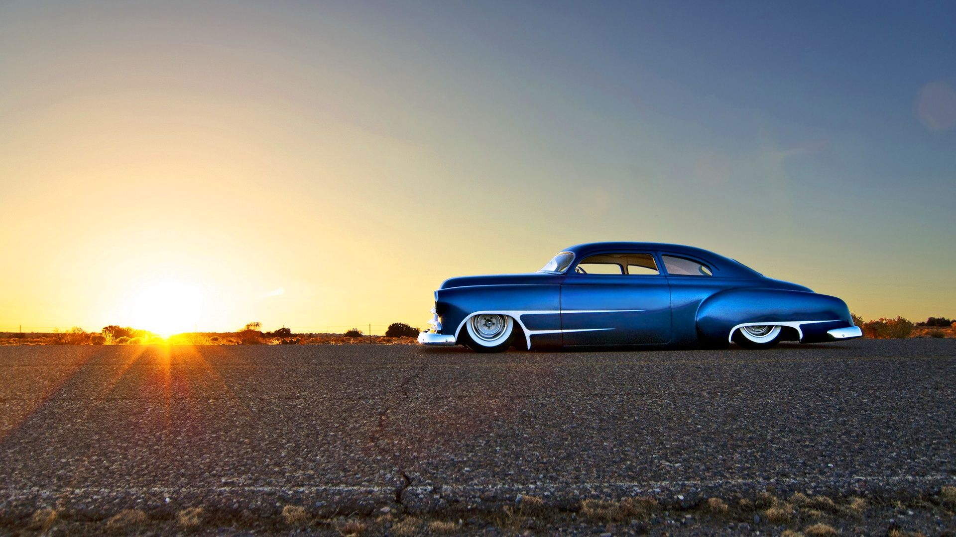 Chevy Classic Hot Rod Wallpaper