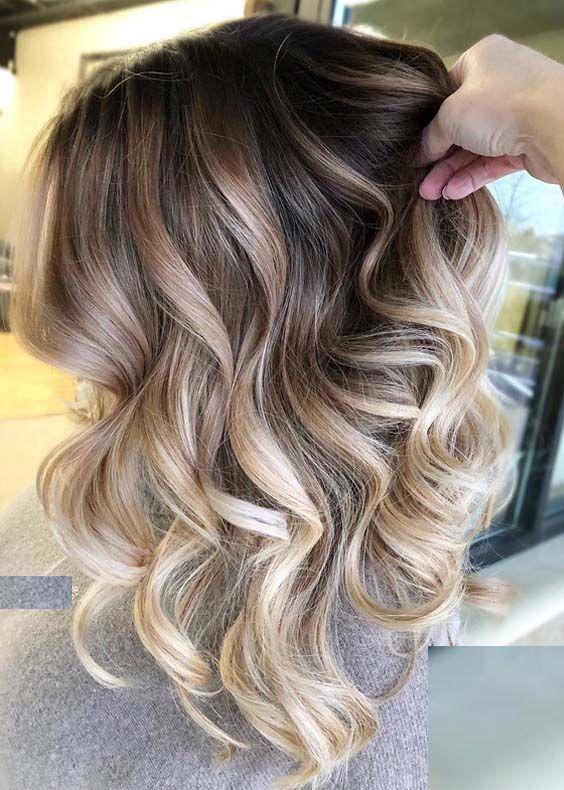 30 Gorgeous Blonde Highlights On Brown Hair 2018 Hair Pinterest