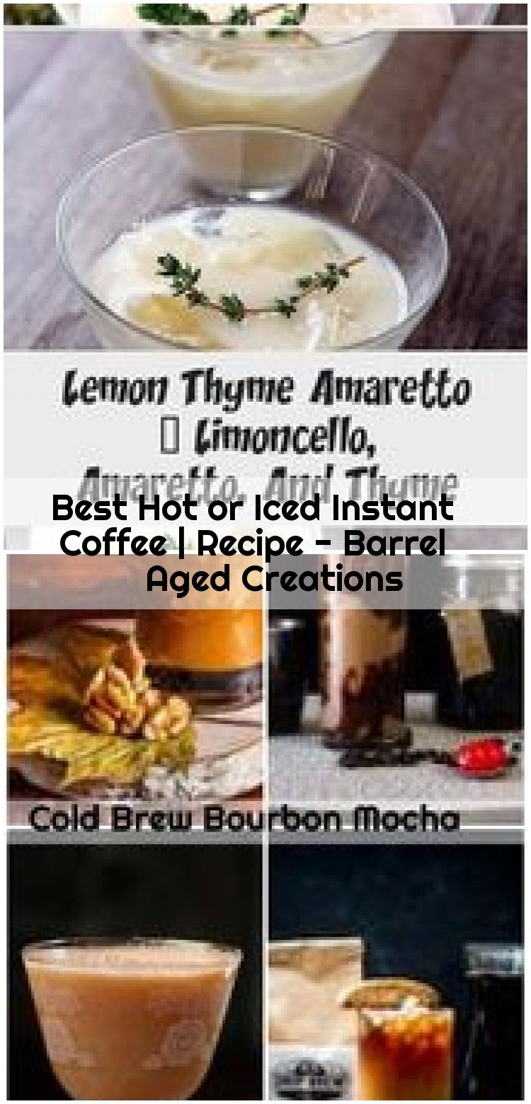 Best hot or iced instant coffee recipes coffee recipes