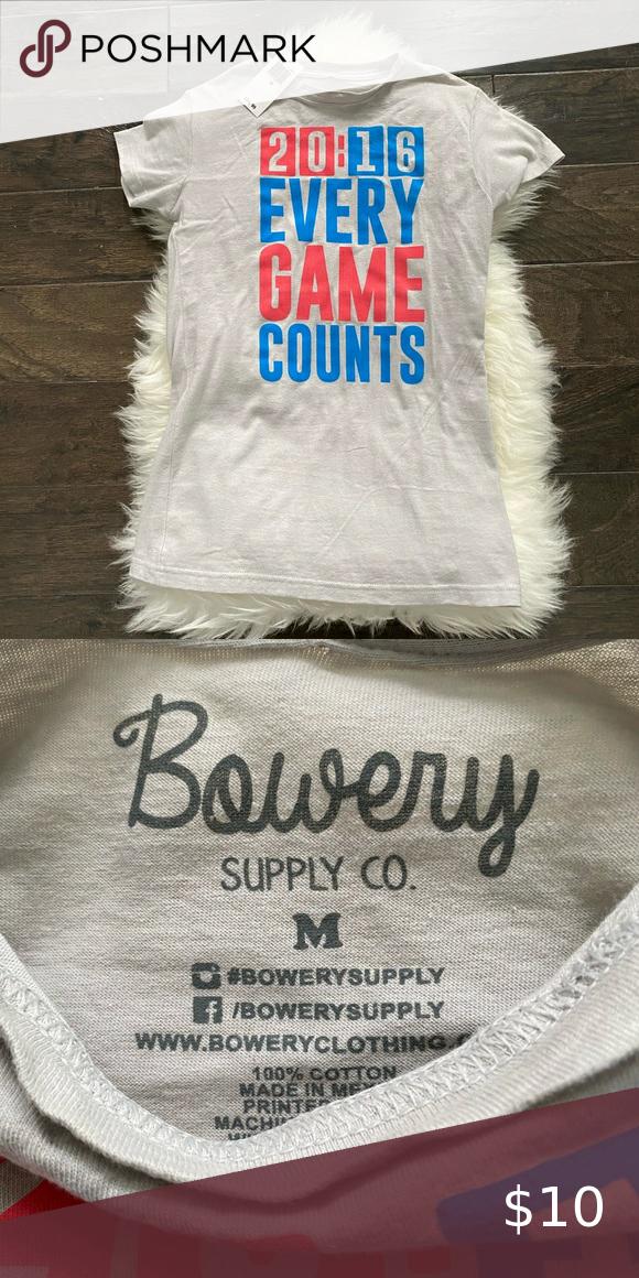 NWT Bowery Supply Co. Women's T-Shirt