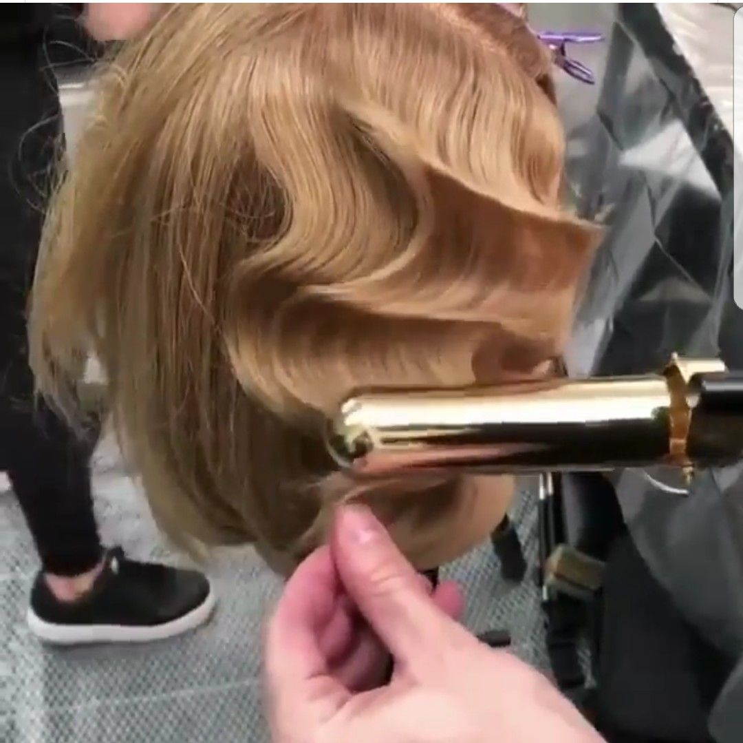 How To Use Marcel Curling Iron On Short Hair Up To 69 Off Free Shipping