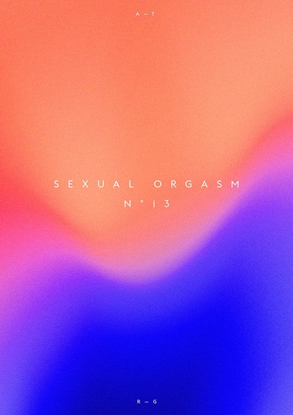 seeing colors during orgasm