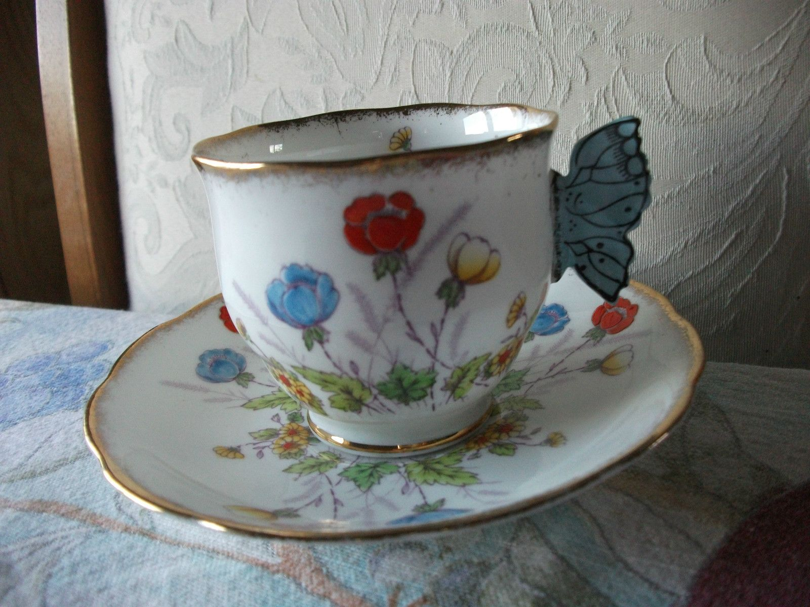 Details About Footed Cup Amp Saucer Bone China Royal Albert