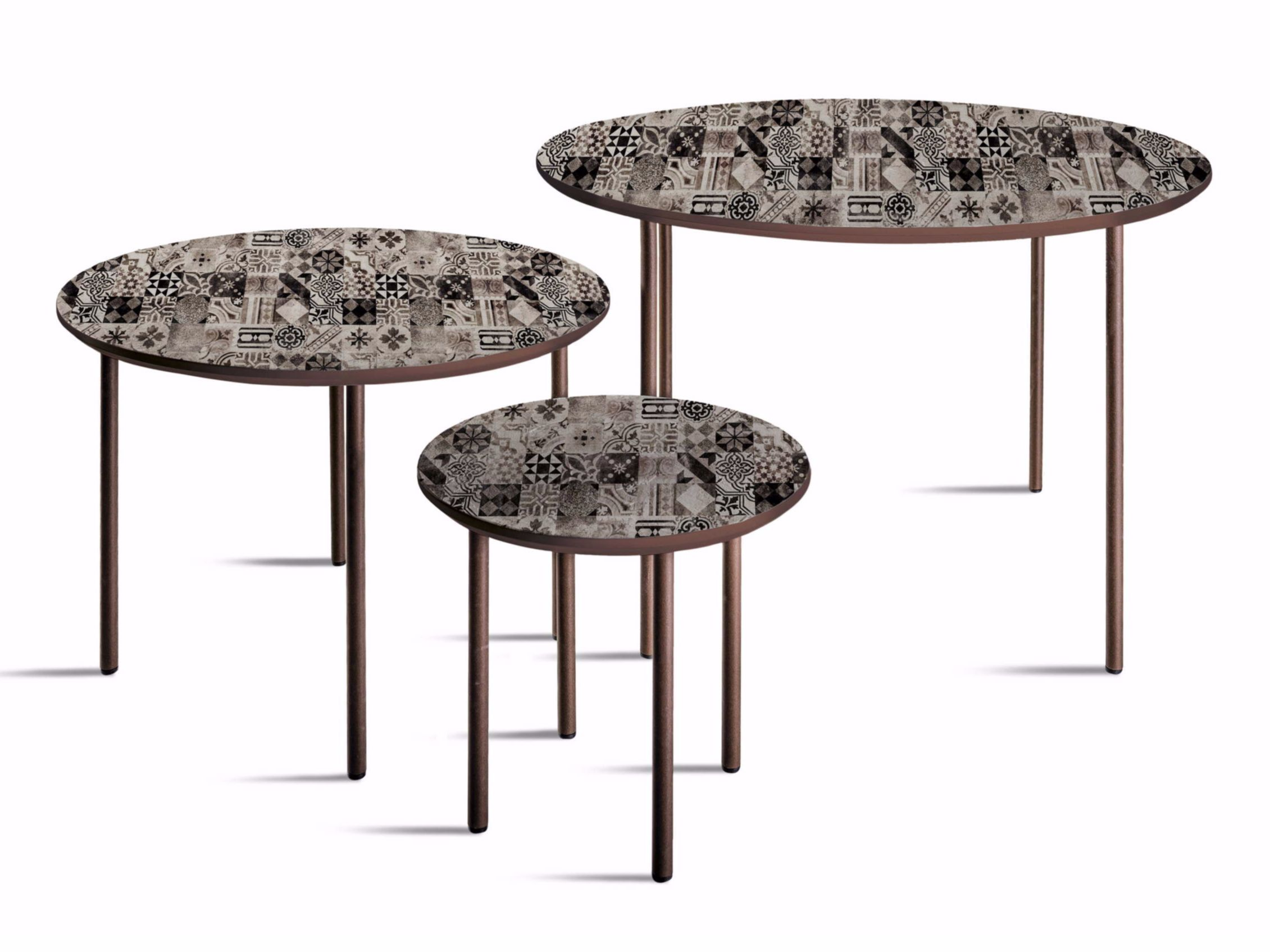 Round Mdf Coffee Table T 32 52 72 Crazy Home Furniture Collection By Momenti Di Bagnai Matteo Coffee Table Table Furniture Collection [ 1695 x 2261 Pixel ]