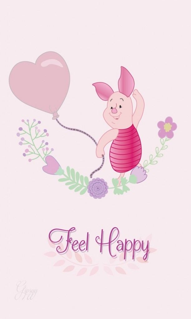 Piglet Piggy Disney Iphone Wallpaper Lock Screen Panpins