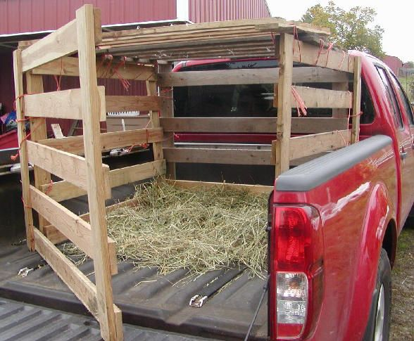 Pickup Truck Livestock Rack Supplies For One 6 Panel Goats