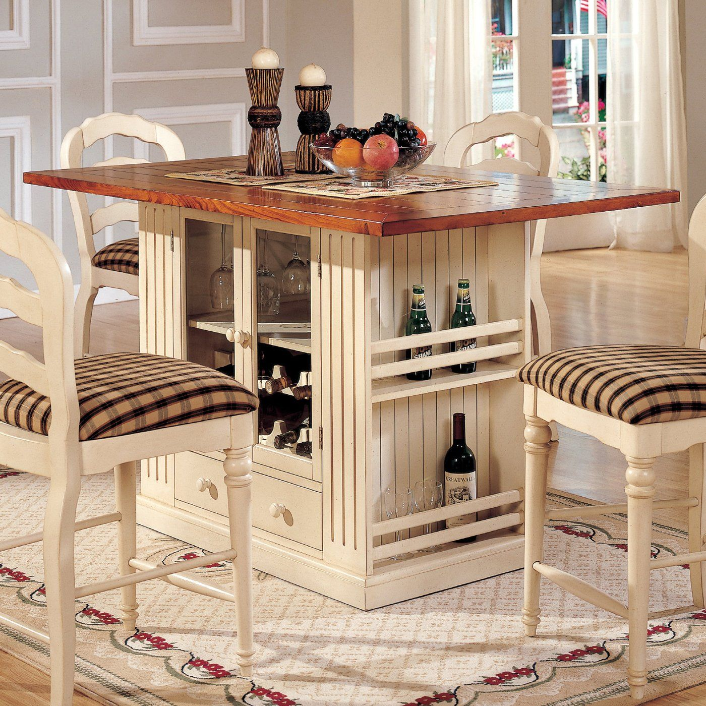 5 Long X 3 Wide X 3 High Kitchen Island Table Kitchen Table With Storage Kitchen Island With Seating