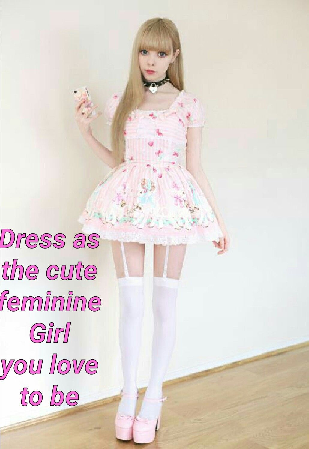 Sissy Dress Caption 5