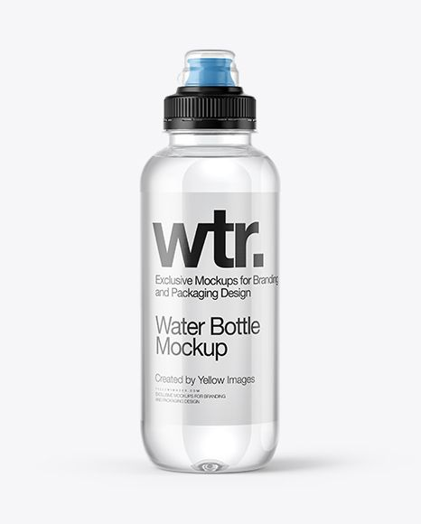 Download Clear Water Bottle With Sport Cap Mockup In Bottle Mockups On Yellow Images Object Mockups Bottle Mockup Mockup Mockup Free Psd