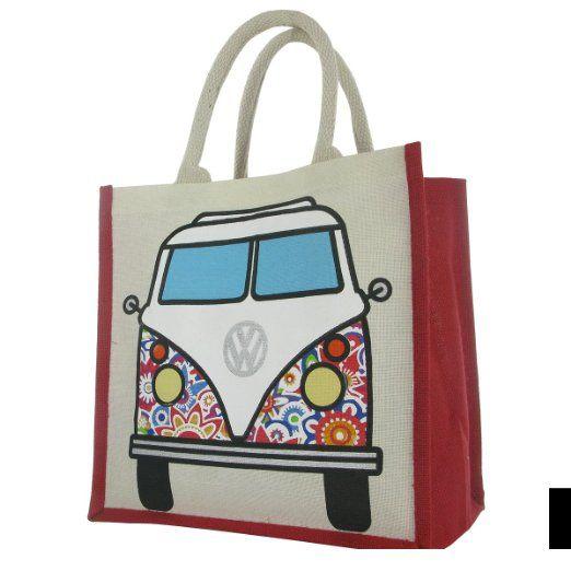 volkswagen bag for life shopper tasche mit vw bulli t1. Black Bedroom Furniture Sets. Home Design Ideas