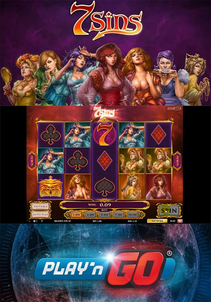 Embrace The Dark Side With The New 7 Sins Slot By Play N Go Play