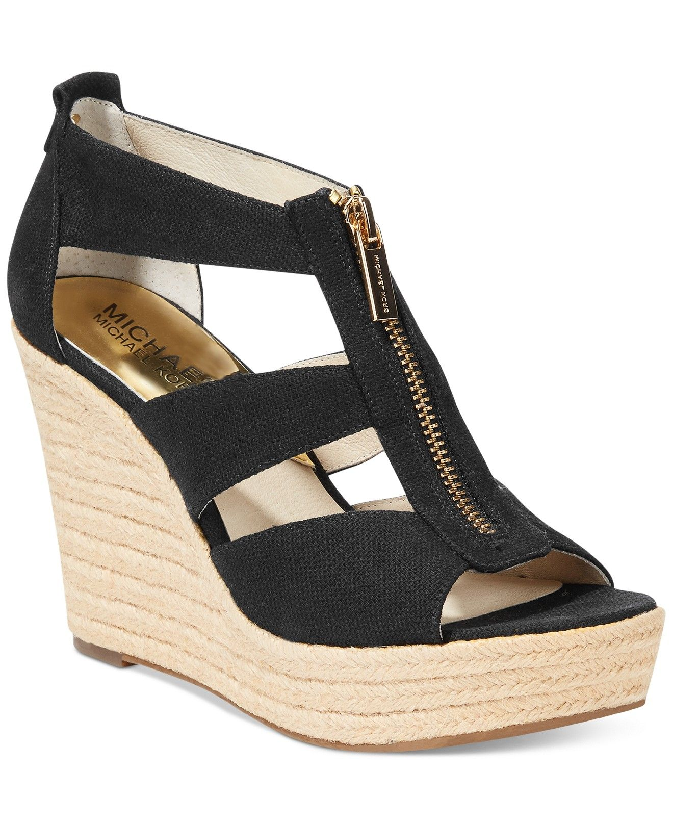 011ffb1e1cd MICHAEL Michael Kors Damita Platform Wedge Sandals - MICHAEL Michael Kors -  Shoes - Macy s