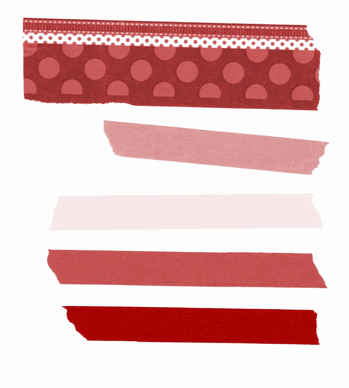 Printable And Digital Valentine Washi Tape Washi Tape Projects Washi Washi Tape