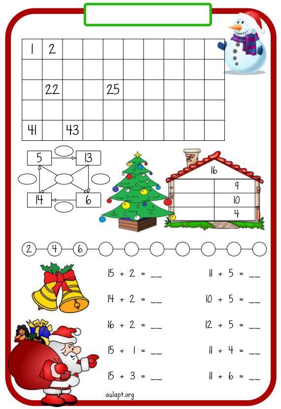 Sigo con fichas para repasar numeración y cálculo para trabajar a modo de  rutina o refuerzo. En e… | Fichas, Matemáticas para niños, Ejercicios  matematicas primaria