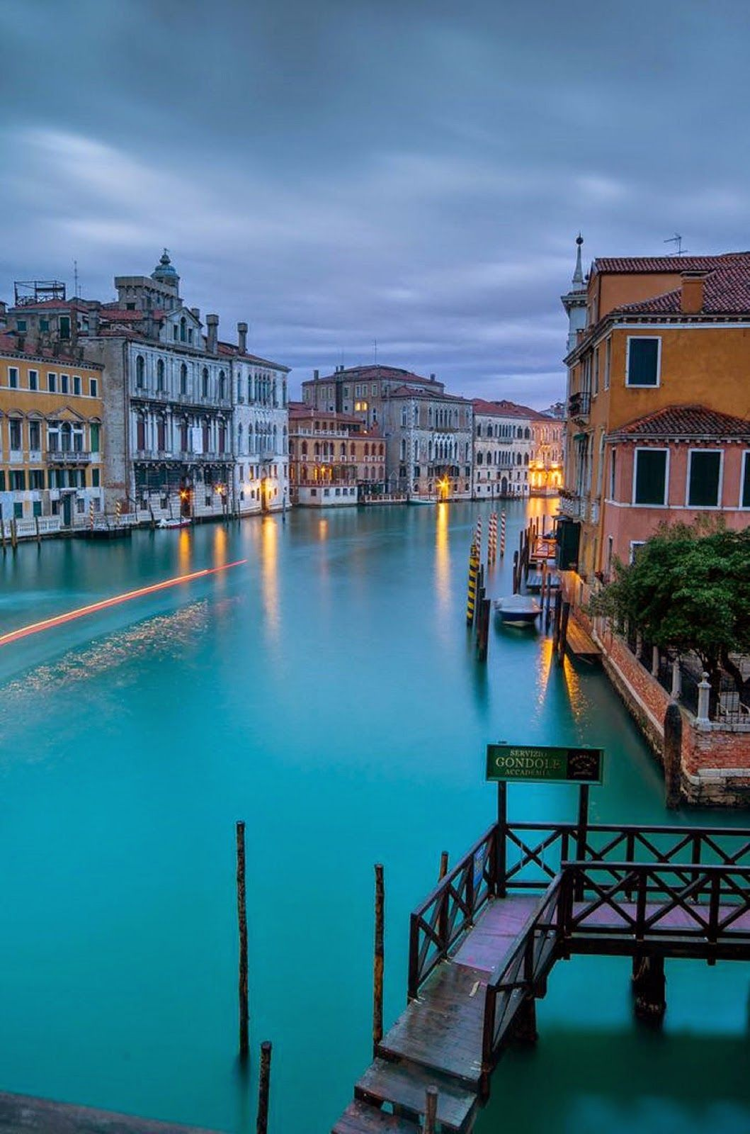 Photo of Venice, blue canal