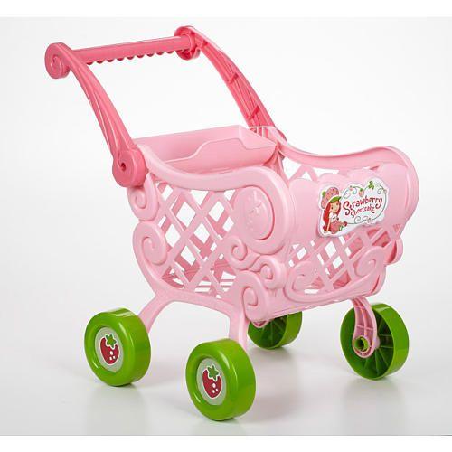 Strawberry Shortcake Shopping Cart Pretend Play Kitchen