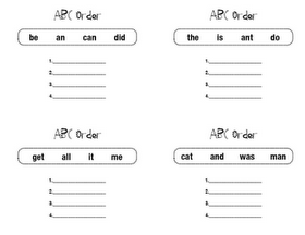 how to alphabetize in word perfect