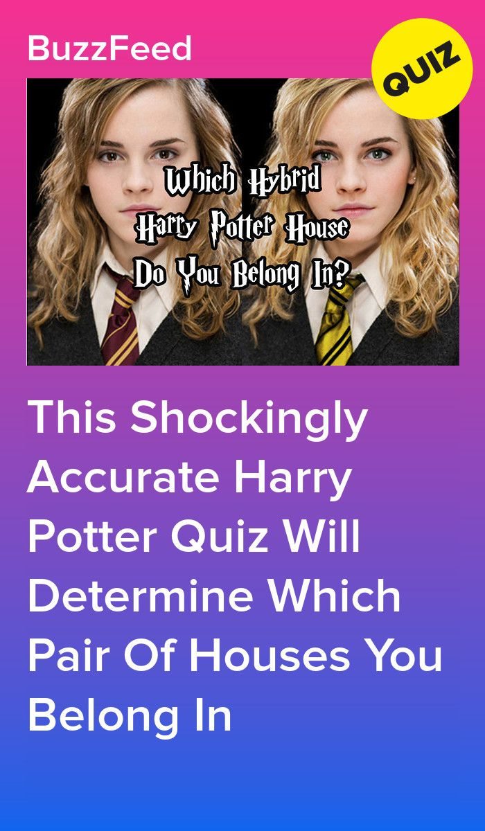 This Shockingly Accurate Harry Potter Quiz Will Determine