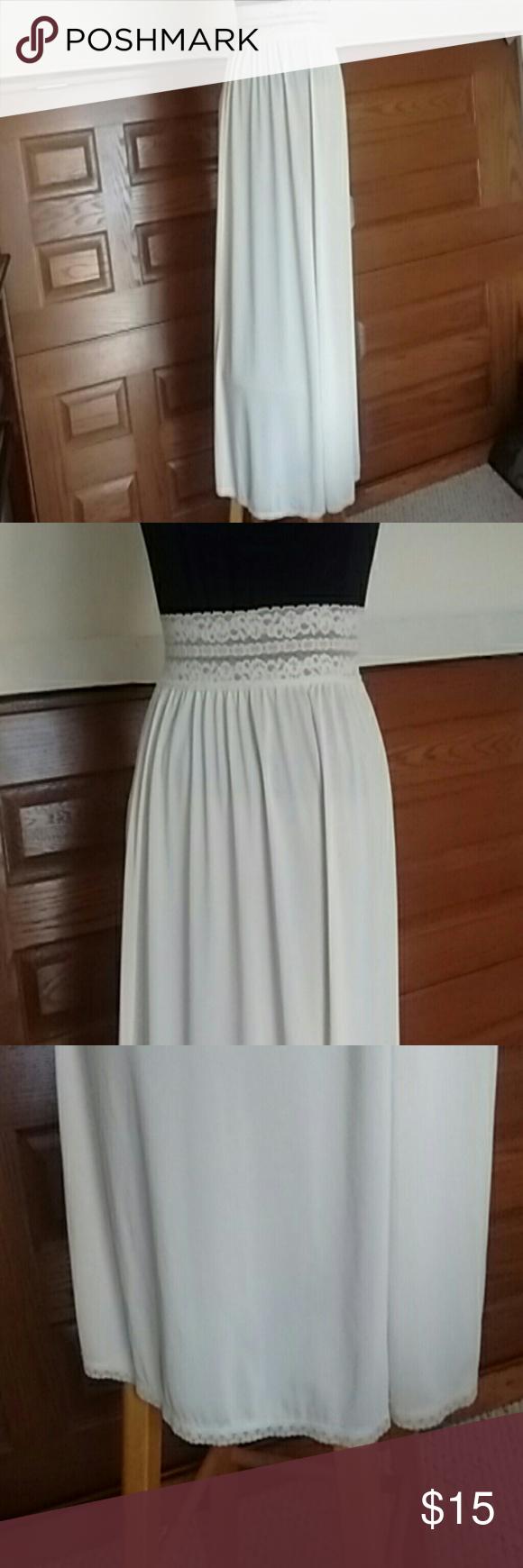 Vintage Cream Maxi Half Slip Lorraine Maxi Dresses And Customer