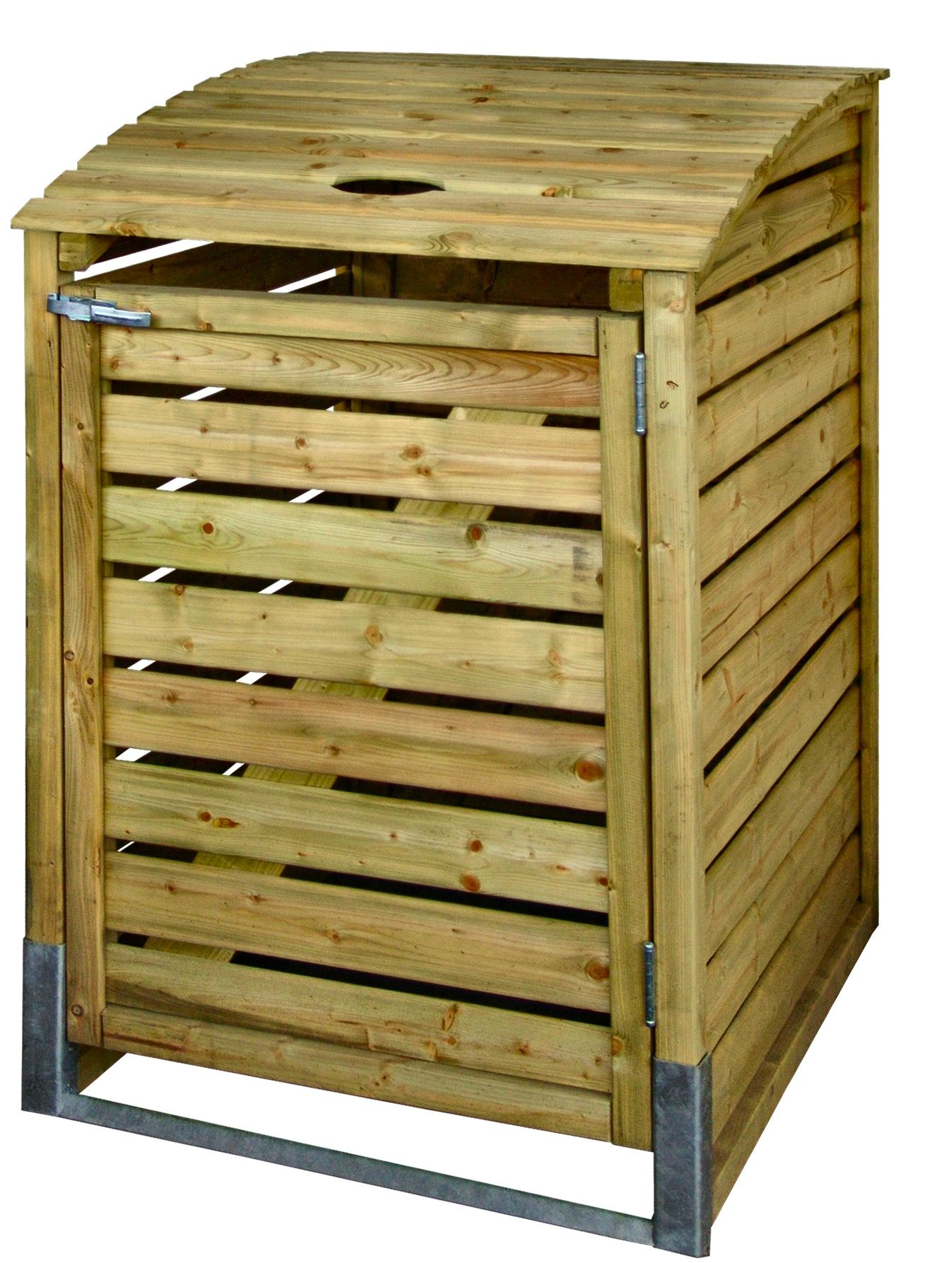 High Quality Wheelie Bin Covers Single Impregnated Or Autoclave Pine Wood, Suitable For  Wheelies Till 240ltrs. Garden ProductsGarden ShedsPallet ...