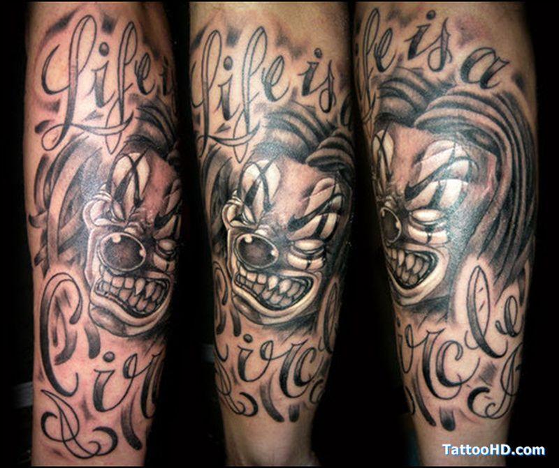 Gangster Tattoo Designs Gallery