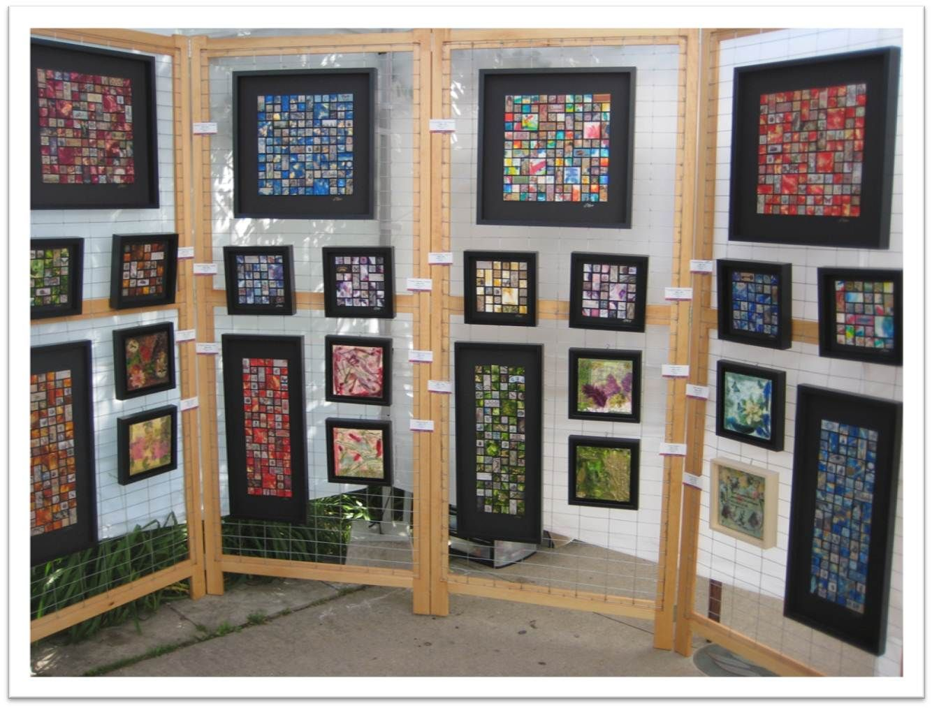 Wood And Wire Display Craft Show Displays Exhibition