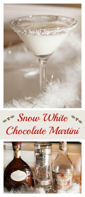 Snow White Chocolate Martini #snowwhite