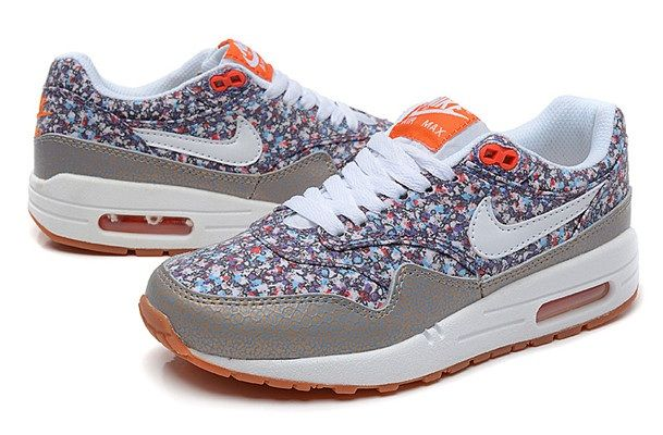 Flowers Flower Nike Max Air Womens Shoes Gray Shoe With BxxwqOfv