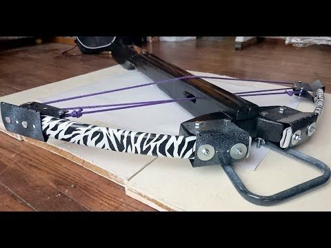 【HD】HOMEMADE COMPOUND CROSSBOW !!! - YouTube