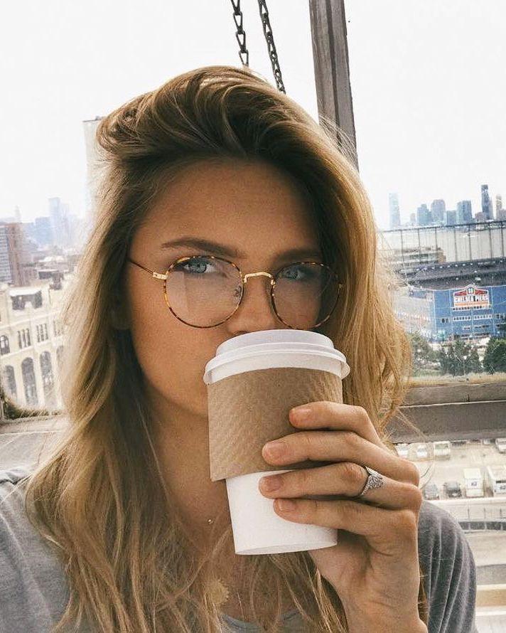 Óculos de grau redondo   lovely things   Pinterest   Glasses ... 1bd677ed6b