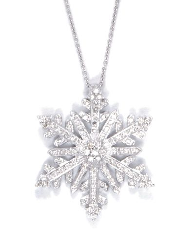 Snowflakes Diamond Jewelry Necklace Jewelry Round Diamond Earrings