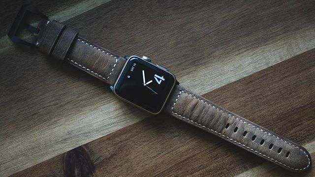 Iphone leather case by Alan Gomez on want Apple watch