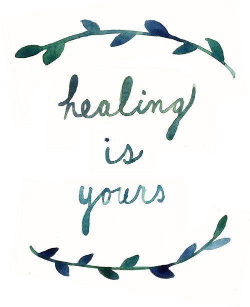 52 Healing Cool Words Words