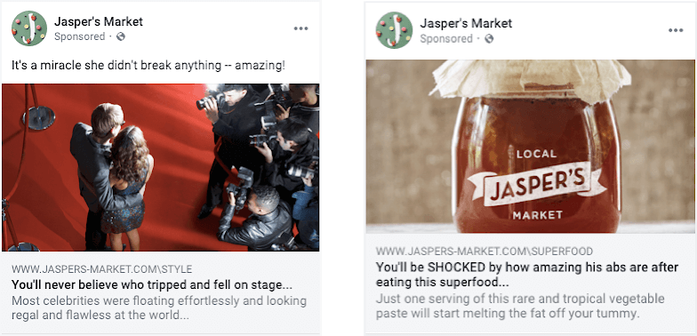 Facebook Cracking Down On Ads With Clickbait Headlines
