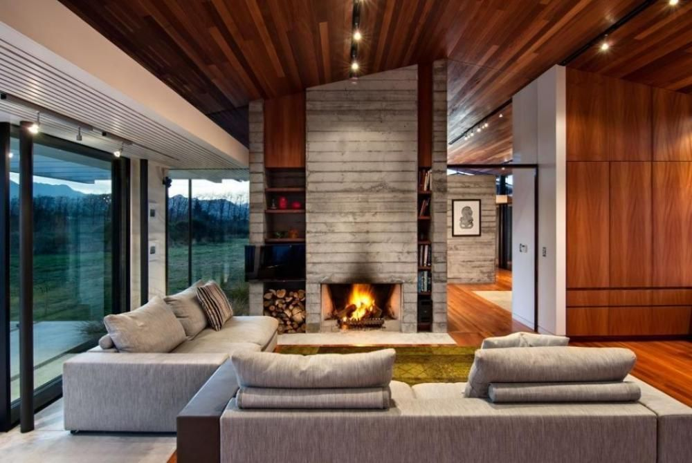 Home Design Ideas: remarkable room modern rustic interior design ...